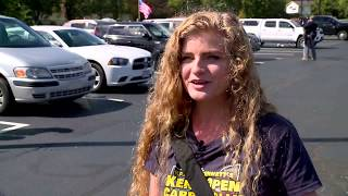Kent State's 'gun girl' vows to campus return after open carry demonstration