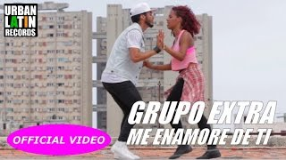 GRUPO EXTRA - ME ENAMORE DE TI (OFFICIAL VIDEO) (SALSA CUBANA 2017)