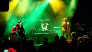 Etzia, Papa Dee and General Knas, live at Musiker Mot Rasism
