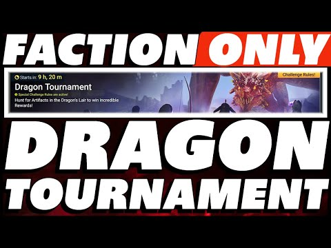 DRAGON TOURNAMENT FACTION ONLY TEAMS! BE FAST RICKY BOBBY RAID SHADOW LEGENDS DRAGON TOURNAMENT
