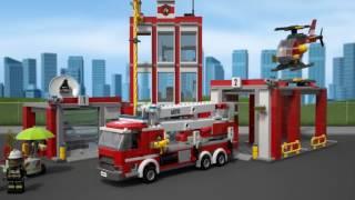 Lego City - Quartel dos Bombeiros | 60110