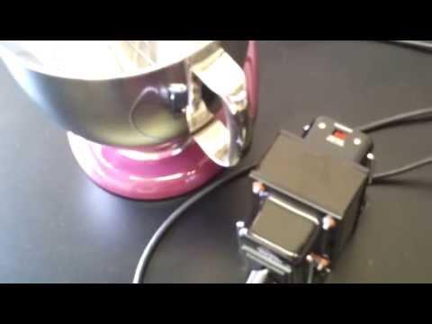 Mikser KitchenAid Artisan - mixer z adapterem 110/220 volt