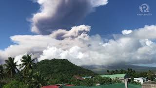 Alert Level 4 raised over Mayon Volcano