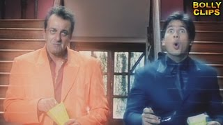 Comedy Movies | Hindi Movies 2018 | Sanjay Dutt Takes Shahid Into Flashback | Comedy Scenes width=