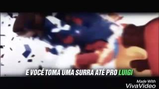 Mário vs Pernalonga e Mickey edo
