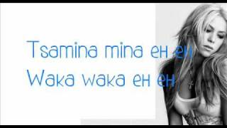 Shakira - Waka Waka (This Time For Africa) Lyrics Ft. Freshly Ground