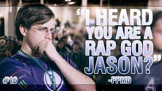 """I heard you are a rap god jason?"" -PPMD || Weekly SSBM community highlights #16"