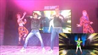 favij in live sul palcosenico!!!  - JUST DANCE 4  - lucca comix