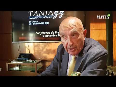 """Video : Philippe Lorin: """"Tanjazz est un festival de bons musiciens et non de vedettes"""""""