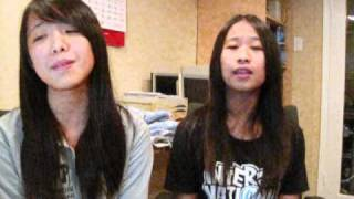 [High School Musical 3] Just wanna be with you cover by Tanya and Vivian