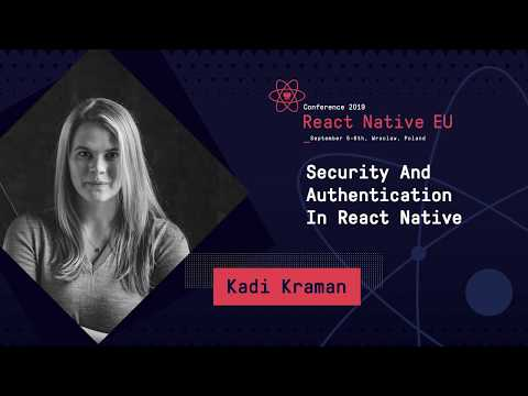 Security And Authentication In React Native