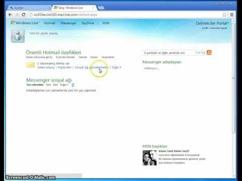 E-mail Adresi Nasıl Alınır? (Delinetciler Portal)