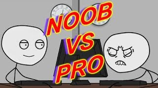 Noob Gamer vs Pro Gamer