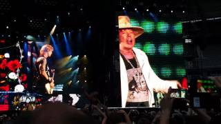 Guns N' Roses - Sweet Child O' Mine , Live in Paris 07.07.2017