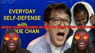 JACKIE CHAN Shows You How to Fight with Random Objects REACTION!!!