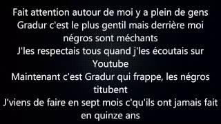 "Gradur - Freestyle ""Sheguey 10"" #Traction avec Paroles/Lyrics"