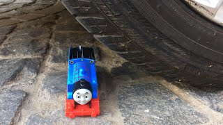 Careless Dad crushes Thomas The Train under the car Accidents Will Happen