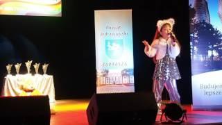 """Anna Wieleńska. """"Kot Dżafar"""". XIV Festiwal """"Nad Wierną Rzeką"""". 05.11.2016r. Małogoszcz."""