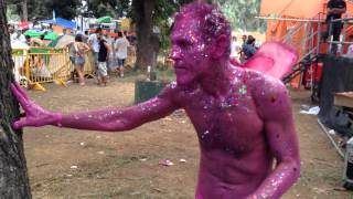 The Pink Man ( Jovis Burk) @Neverland Festival 2013 (Israel) sound - Shayman - Trip On
