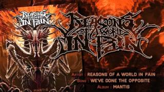 Reasons of a World in Pain -  We've done the opposite (Featuring Luc Lemay)