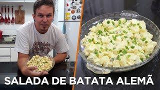 Salada de Batata estilo Alemã - Cozinha com Batata - OCSQN! #146