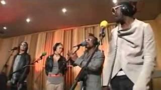 Black Eyed Peas - Boom Boom Pow , Live Lounge