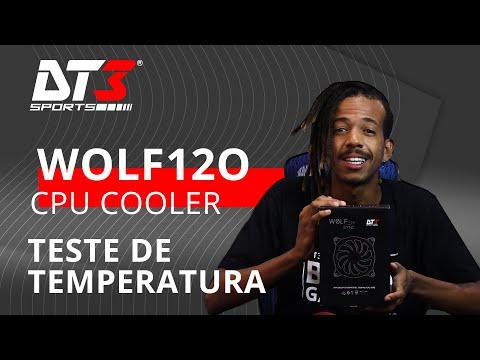 Teste de temperatura wolf120 - Benchmark