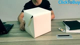 Opvouwbare Mini Foto Studio met LED Verlichting op CTB
