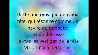 Louane - Rester seule - ParolesMusic