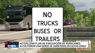 Rutas de evacuación para los huracanes
