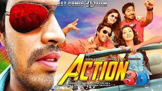 Action 3D (2018)   New Released Full Hindi Dubbed Movie   South Indian Dubbed Movies 2018 Full Movie width=