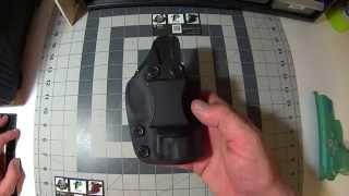 Bersa Ultra Compact 9mm Kydex holster