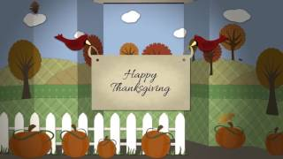 Thanksgiving or Autumn Papercraft Greetings - After Effects Project Files | VideoHive 9444933