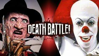 Freddy krueger vs Pennywise (Death Battle Idea)