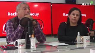 L'Info en Face avec Fatiha Mghoghi & Aboubkr Mezzour de l'AMS