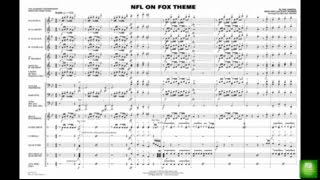 NFL on Fox Theme arranged by Michael Brown