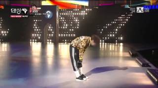 "[댄싱9/Dancing9 Ep.12] MVP 하휘동 솔로무대 (""♬Hey Mama ""-Black Eyed Peas)"