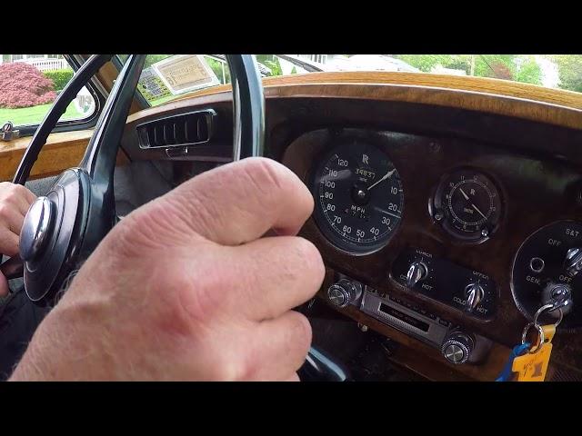 1961 Rolls Royce Silver Cloud II Test Drive; Feel Free to Join Us!