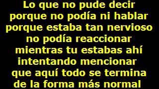 LO QUE NO PUDE DECIR  - Tranzas (LETRA)