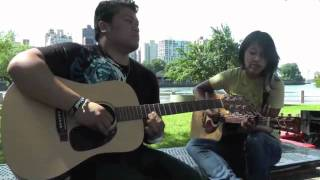 Stuttering cover - Jamming outdoors