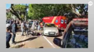 Policial de folga troca tiros com bandido na Mato Grosso e acerta suspeito na cabeça