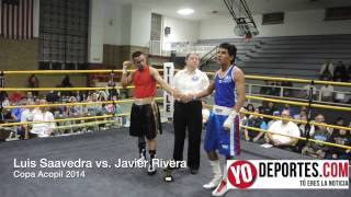 Luis Saavera vs  Javier Rivera Copa Acopil 2014