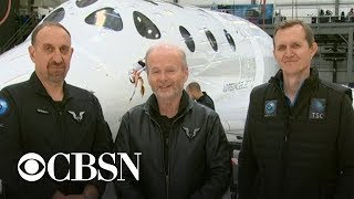 Virgin Galactic takes first test passenger into space