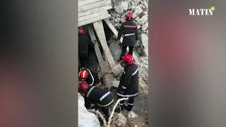 Casablanca : Un effondrement au quartier La Gironde fait deux morts