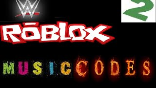 Roblox WWE Music Codes Part 2