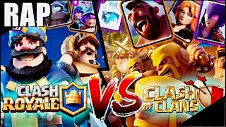 Clash of Clans VS. Clash Royale l RAP GAME l BlackBattle #02 (Ft. Ronny Uchiha)