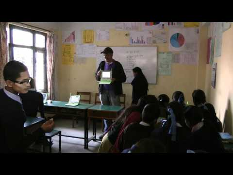 Kavre school One Laptop Per Child project