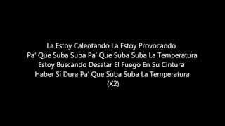 La Temperatura Maluma Ft Eli Palacios Letra