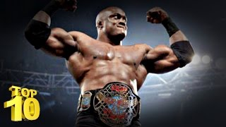 Top 10 : Moves Of The Bobby Lashley