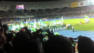 Frente Radical Verdiblanco Deportivo Cali 1 vs Once Caldas